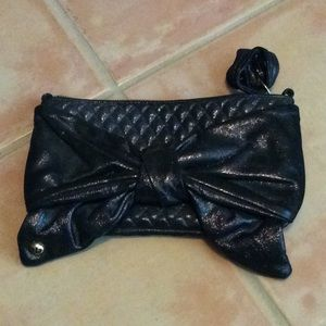 Juicy Couture Black Shimmery Clutch